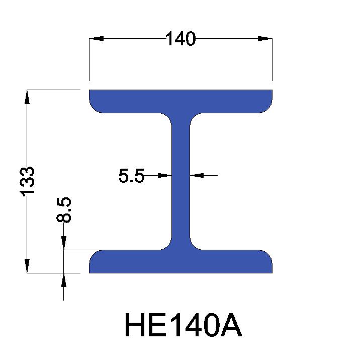 HE140A constructiebalk