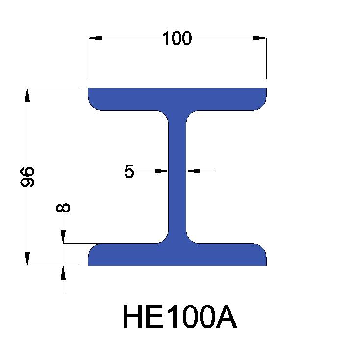 HE100A constructiebalk