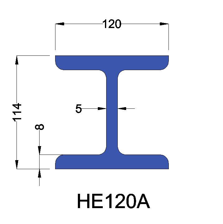 HE120A constructiebalk
