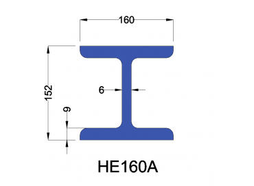 HE160A constructiebalk