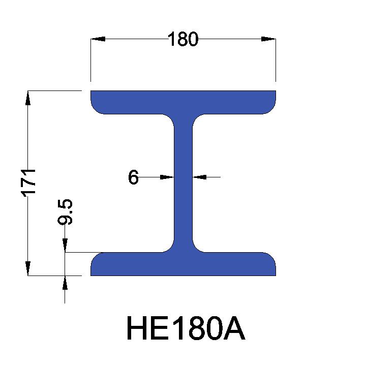 HE180A constructiebalk