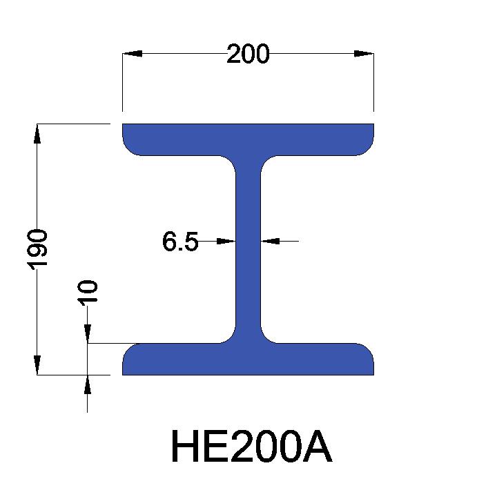 HE200A constructiebalk