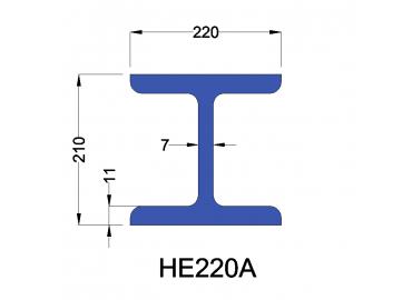 HE220A constructiebalk