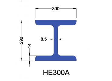 HE300A constructiebalk