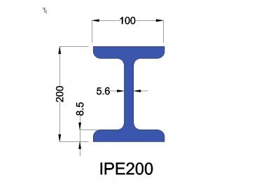IPE200 constructiebalk