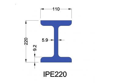 IPE220 constructiebalk