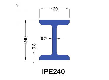 IPE240 constructiebalk