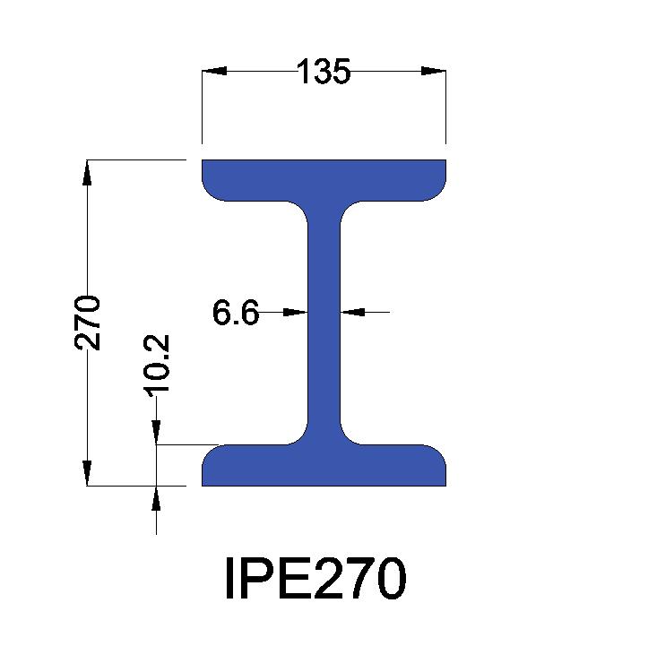 IPE270 constructiebalk