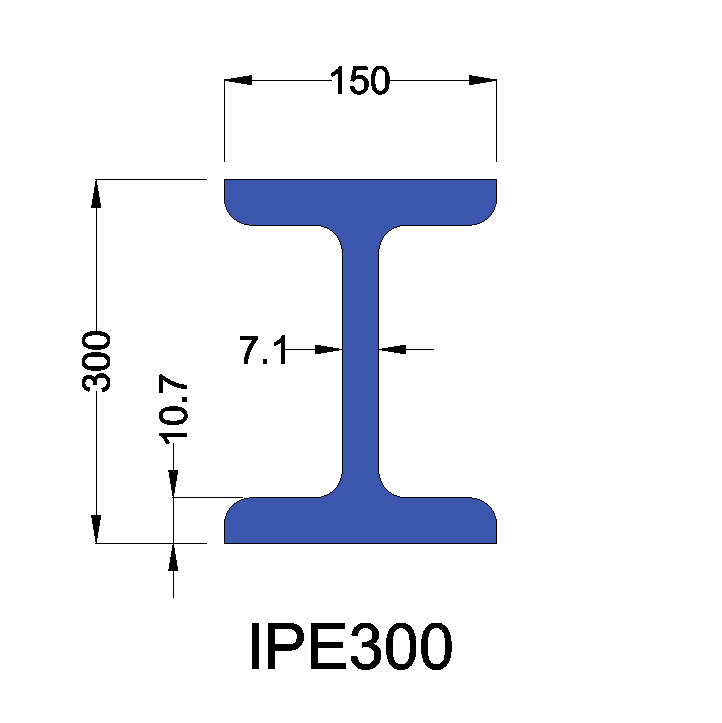 IPE300 constructiebalk