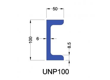 UNP100 constructiebalk