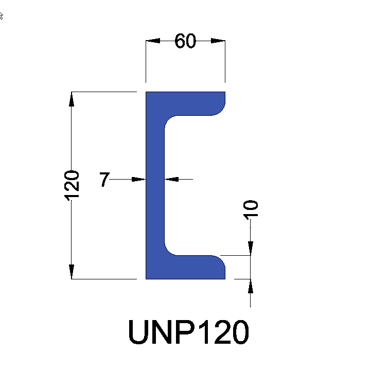 UNP120 constructiebalk