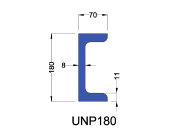 UNP180 constructiebalk