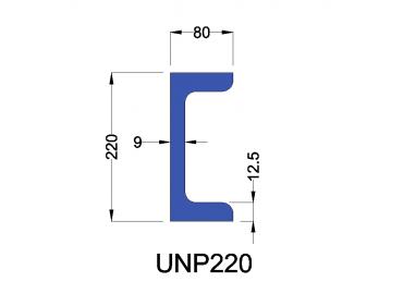 UNP220 constructiebalk
