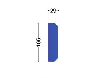 IPE 120 tussenschot 105x29x10mm