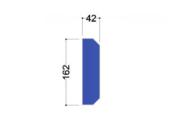 IPE 180 tussenschot 162x42x10mm