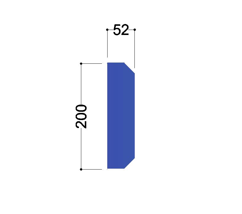 IPE 220 tussenschot 200x52x10mm