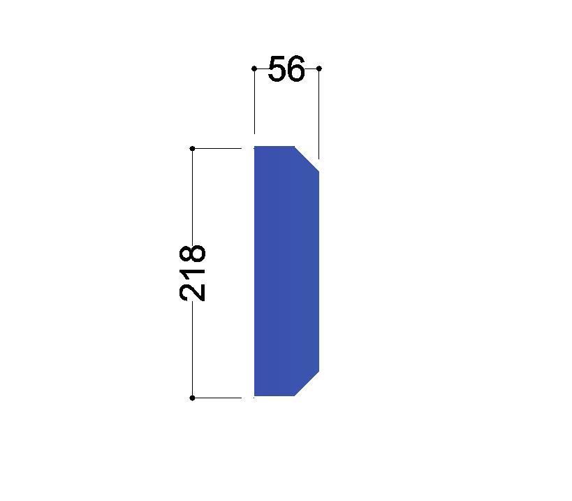 IPE 240 tussenschot 218x56x10mm