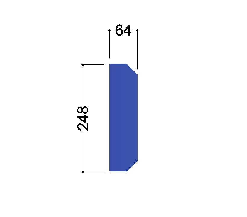 IPE 270 tussenschot 248x64x10mm