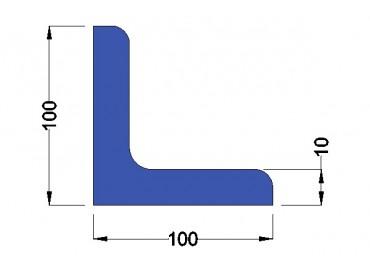 Stalen Hoekprofiel 100x100x10mm