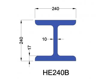 HE240B constructiebalk