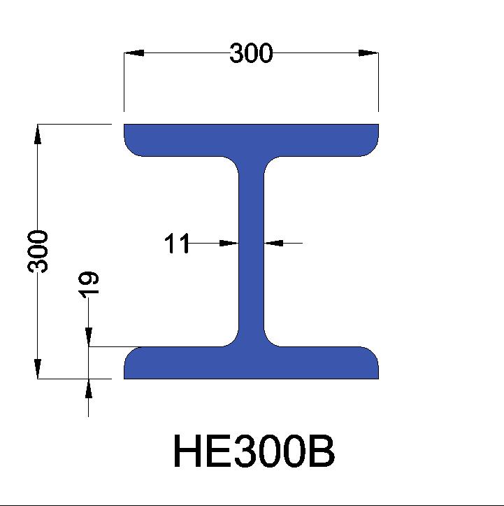 HE300B constructiebalk