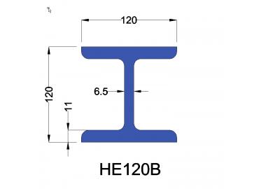 HE120B constructiebalk