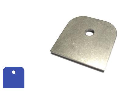 Montagestrip kan worden gelast aan stalen constructiebalken en profielen